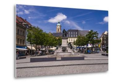 Germany, Bavaria, Lower Franconia, Mainfranken, Schweinfurt-Udo Siebig-Metal Print