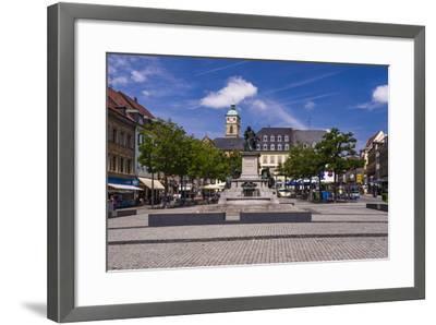 Germany, Bavaria, Lower Franconia, Mainfranken, Schweinfurt-Udo Siebig-Framed Photographic Print