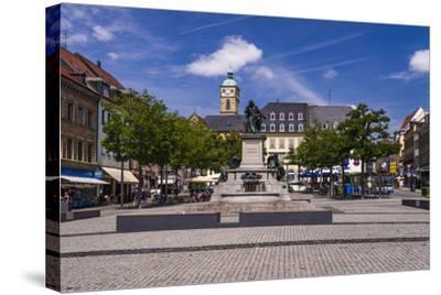 Germany, Bavaria, Lower Franconia, Mainfranken, Schweinfurt-Udo Siebig-Stretched Canvas Print