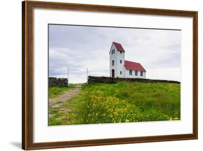 Church at the Pingvallavatn-Catharina Lux-Framed Photographic Print