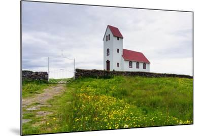 Church at the Pingvallavatn-Catharina Lux-Mounted Photographic Print