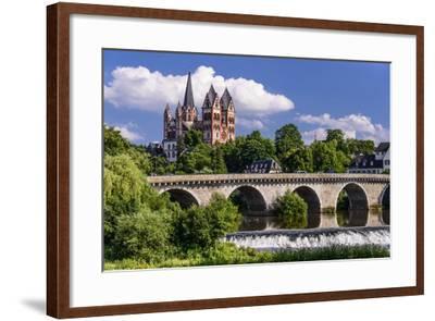 Germany, Hessen, Taunus (Region), Lahn, Limburger Becken-Udo Siebig-Framed Photographic Print