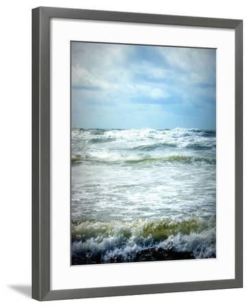 North Sea Beach Netherlands-Alaya Gadeh-Framed Photographic Print