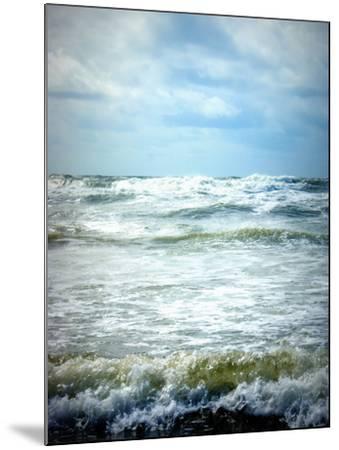 North Sea Beach Netherlands-Alaya Gadeh-Mounted Photographic Print