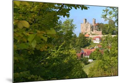Germany, Thuringia, Eichsfeld (Region), Rimbach (District) and Castle Hanstein-Andreas Vitting-Mounted Photographic Print