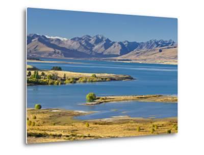 Lake Tekapo, Canterbury, South Island, New Zealand-Rainer Mirau-Metal Print