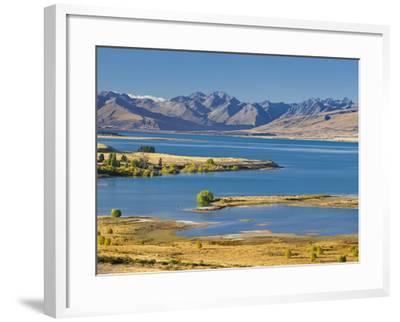 Lake Tekapo, Canterbury, South Island, New Zealand-Rainer Mirau-Framed Photographic Print