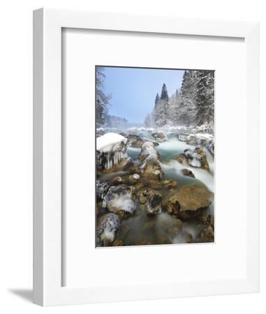 Austria, Styria, Enns Am GesŠuseeingang (Village-Rainer Mirau-Framed Photographic Print