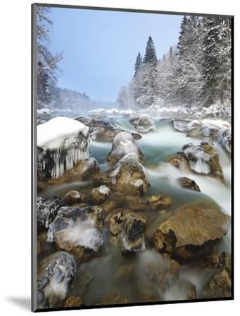 Austria, Styria, Enns Am GesŠuseeingang (Village-Rainer Mirau-Mounted Photographic Print