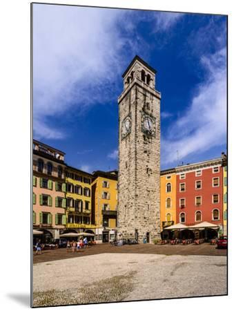 Italy, Trentino South Tyrol, Trentino, Lake Garda, Riva Del Garda, Torre Apponale-Udo Siebig-Mounted Photographic Print