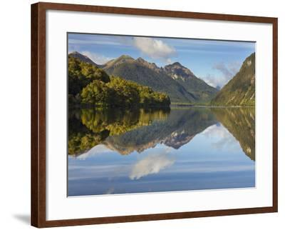 Lake Gunn, Fiordland National Park, Southland, South Island, New Zealand-Rainer Mirau-Framed Photographic Print
