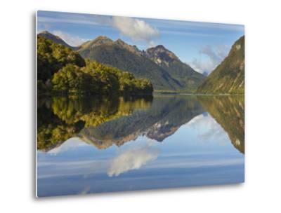 Lake Gunn, Fiordland National Park, Southland, South Island, New Zealand-Rainer Mirau-Metal Print