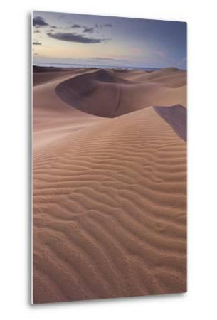 Dunes Close Maspalomas, Gran Canaria, Canary Islands, Spain-Rainer Mirau-Metal Print
