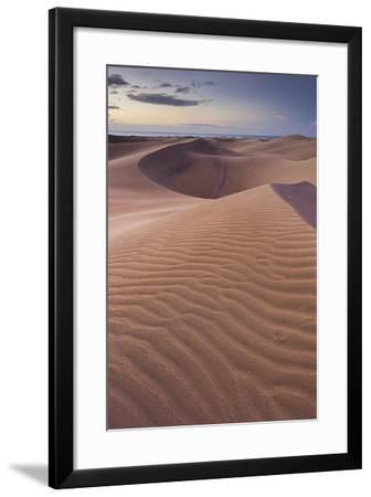 Dunes Close Maspalomas, Gran Canaria, Canary Islands, Spain-Rainer Mirau-Framed Photographic Print