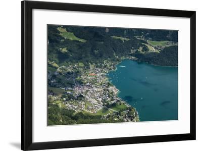 St. Gilgen, Wolfgangsee, Austria, Salzburg State, Salzkammergut-Frank Fleischmann-Framed Photographic Print
