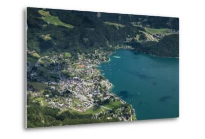 St. Gilgen, Wolfgangsee, Austria, Salzburg State, Salzkammergut-Frank Fleischmann-Metal Print