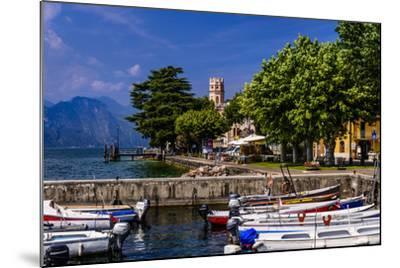 Italy, Veneto, Lake Garda, Torri Del Benaco, District Pai, Townscape-Udo Siebig-Mounted Photographic Print