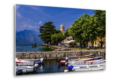 Italy, Veneto, Lake Garda, Torri Del Benaco, District Pai, Townscape-Udo Siebig-Metal Print