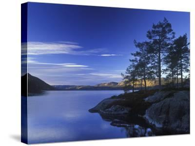 Norway, Telemark, Nisser Lake, Sunrise-Andreas Keil-Stretched Canvas Print