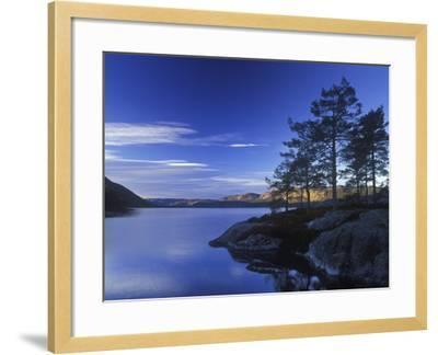 Norway, Telemark, Nisser Lake, Sunrise-Andreas Keil-Framed Photographic Print