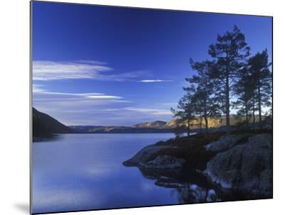 Norway, Telemark, Nisser Lake, Sunrise-Andreas Keil-Mounted Photographic Print