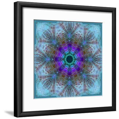 A Mandala Montage Out of Roses and Ornaments-Alaya Gadeh-Framed Photographic Print