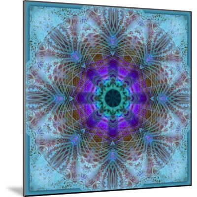 A Mandala Montage Out of Roses and Ornaments-Alaya Gadeh-Mounted Photographic Print