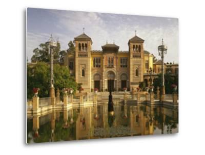 Spain, Sevilla, Palacio Mudejar-Thonig-Metal Print
