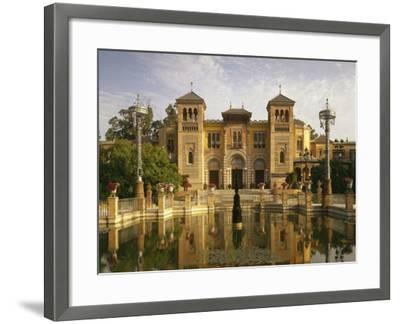 Spain, Sevilla, Palacio Mudejar-Thonig-Framed Photographic Print