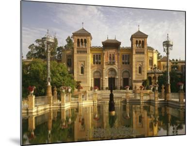 Spain, Sevilla, Palacio Mudejar-Thonig-Mounted Photographic Print