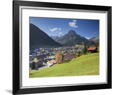 Austria, Vorarlberg (Region), Lechtal, Lech, Omeshorn-Rainer Mirau-Framed Photographic Print