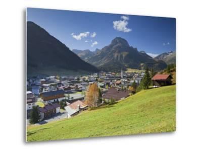 Austria, Vorarlberg (Region), Lechtal, Lech, Omeshorn-Rainer Mirau-Metal Print