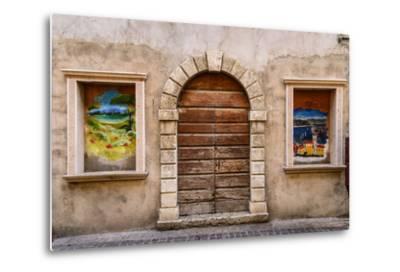 Italy, Veneto, Lake Garda, Torri Del Benaco, Old Town-Udo Siebig-Metal Print