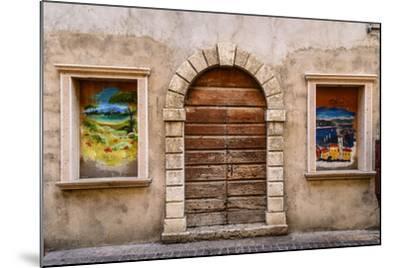 Italy, Veneto, Lake Garda, Torri Del Benaco, Old Town-Udo Siebig-Mounted Photographic Print