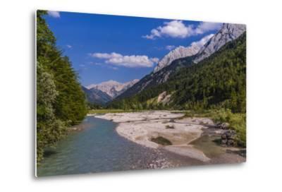 Austria, Tyrol, Karwendel Mountains, Alpenpark Karwendel, Ri?tal-Udo Siebig-Metal Print