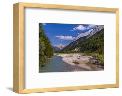 Austria, Tyrol, Karwendel Mountains, Alpenpark Karwendel, Ri?tal-Udo Siebig-Framed Photographic Print