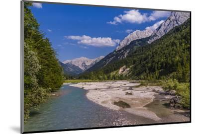Austria, Tyrol, Karwendel Mountains, Alpenpark Karwendel, Ri?tal-Udo Siebig-Mounted Photographic Print