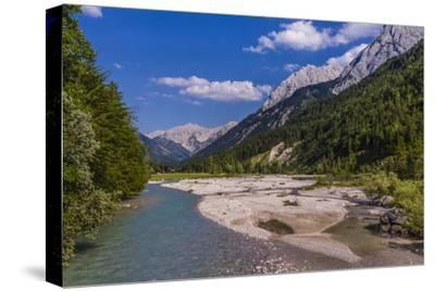 Austria, Tyrol, Karwendel Mountains, Alpenpark Karwendel, Ri?tal-Udo Siebig-Stretched Canvas Print