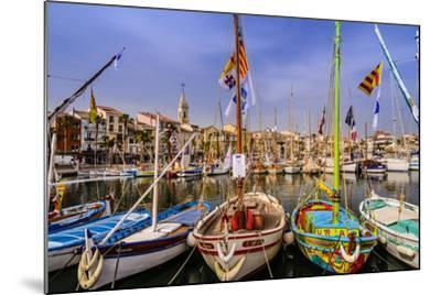 France, Provence, Var, Sanary-Sur-Mer, Harbour-Udo Siebig-Mounted Photographic Print