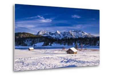Germany, Bavaria, Upper Bavaria, Werdenfelser Land (Region), Alpenwelt Karwendel-Udo Siebig-Metal Print