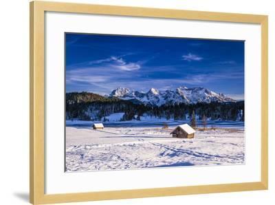 Germany, Bavaria, Upper Bavaria, Werdenfelser Land (Region), Alpenwelt Karwendel-Udo Siebig-Framed Photographic Print