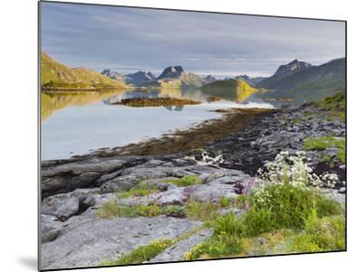 Norway, Northern Country, Lofoten, Moskenesoya, Rossoystraumenen-Rainer Mirau-Mounted Photographic Print