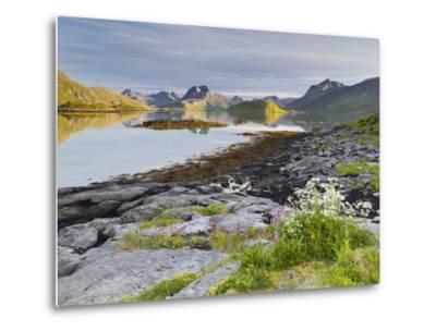 Norway, Northern Country, Lofoten, Moskenesoya, Rossoystraumenen-Rainer Mirau-Metal Print