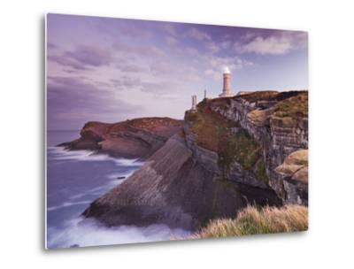 Lighthouse Cabo Mayor Near Santander, Kantabrien, Spain-Rainer Mirau-Metal Print