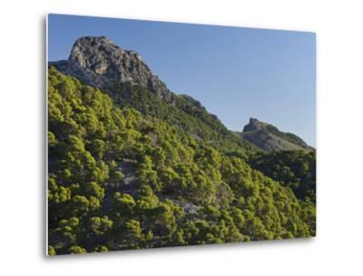 Mountain Coll De Les Fontanelles, Cap De Formentor, Majorca, Spain-Rainer Mirau-Metal Print