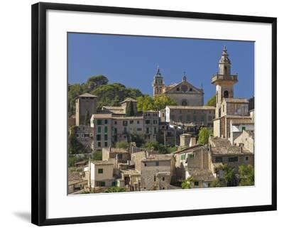 Town View of Valldemossa, Majorca, Spain-Rainer Mirau-Framed Photographic Print