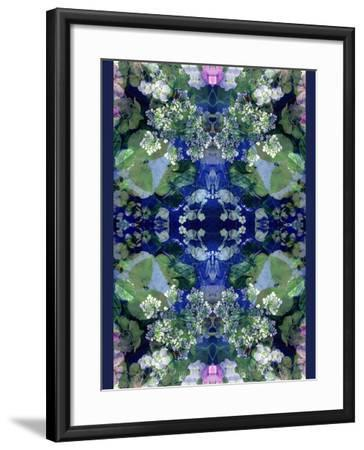 Symmetric Ornament from Flowers-Alaya Gadeh-Framed Photographic Print