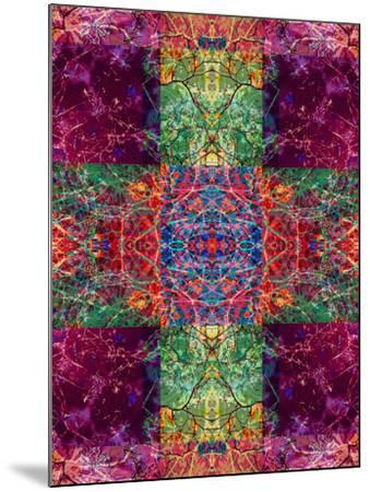 Photographic Layer Work Ornament from Trees Multicolor-Alaya Gadeh-Mounted Photographic Print