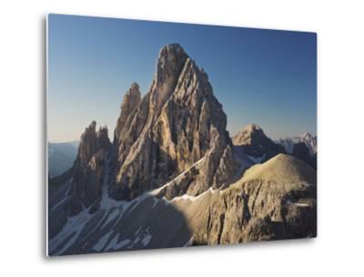 Zwšlferkofel, North Face, South Tyrol, the Dolomites Mountains, Italy-Rainer Mirau-Metal Print