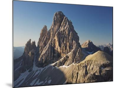 Zwšlferkofel, North Face, South Tyrol, the Dolomites Mountains, Italy-Rainer Mirau-Mounted Photographic Print